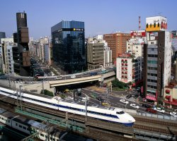 Most expensive cities 2011, Tokyo, Japan, Bullet Train aerial view