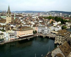 Expensive Holiday City, Zurich, Switzerland, City view