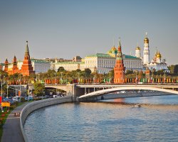 Expensive Holiday City, Moscow, Russia, Kremlin panorama