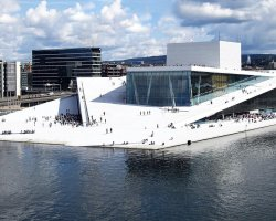 Expensive Holiday City, Oslo, Norway, Opera house