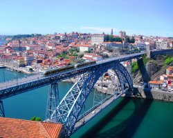 Extended Weekend Holiday, Porto, Portugal, Bridge above view