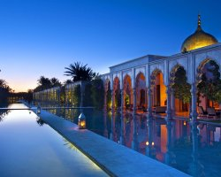 Extended Weekend Holiday, Marrakech, Morocco, Luxury villa pool view