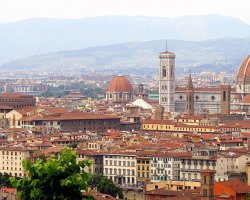 Extended Weekend Holiday, Florence, Italy, City panorama