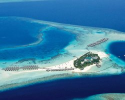 Fairy Tale Holiday, Maldives, Constance Moofushi, Aerial view