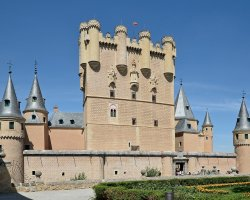 A fairytale castle, Alcazar of Segovia, Spain, The Castle