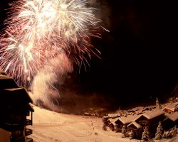 Five Dream Destinations, Val dIsere, France, Christmas fireworks