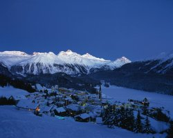 Five Dream Destinations, Saint Moritz, Switzerland, Top view