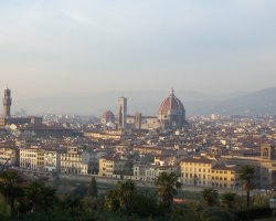 Florence, Italy, City overview with Il Duomo