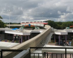 Florida, U.S.A., Disney World Monorail