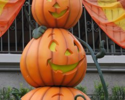 Florida, U.S.A., Disney World Halloween Pumpkins