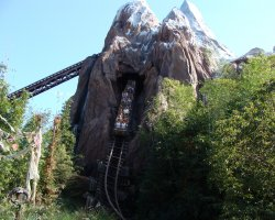 Florida, U.S.A., Expedition Everest at Animal Kingdom Walt Disney World