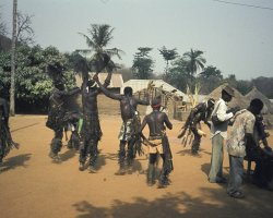 Forgotten Destination, Togo, Traditional dancers