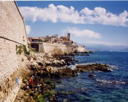 Beautiful Destinations, Antibes, France, Coastal view