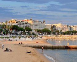 Beautiful Destinations, Cannes, France, Beach view