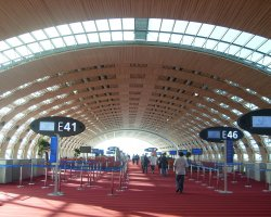 France Holiday, Paris, Charles De Gaulle Airport terminal E