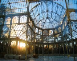 Free attractions holiday, Madrid, Spain, El Parque del Buen Retiro Crystal Palace