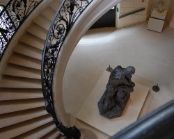 Great Museums, Paris, France, Musee des Beaux Arts, Stairway
