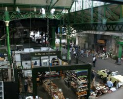 Fresh Food Market, London, England, Borough Market overview