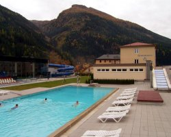 Gastein Holiday, Austria, Hot water pool