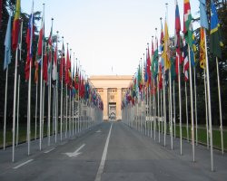 Geneva, Switzerland, Europe, United Nations Palais