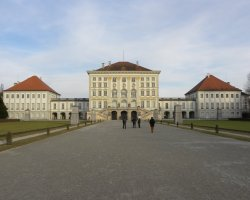 Germany Holiday, Munich, Germany, Nymphenburg Palace front view