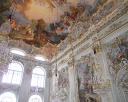 Germany Holiday, Munich, Germany, Nymphenburg Palace interior details
