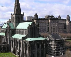 Glasgow, Scotland, UK, City Cathedral