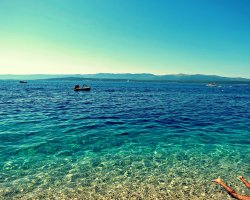 Golden Horn, Croatia, Europe, Crystal clear water