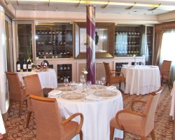 Gourmets Vacantion, Silversea Cruises, Silver Wind, Le Champagne Restaurant