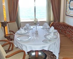 Gourmets Vacantion, Silversea Cruises, Silver Wind, Restaurant close view