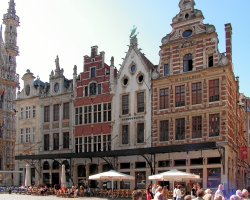 Grote Markt, Brussels, Belgium, House architecture