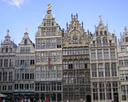 Grote Markt, Brussels, Belgium, House architecture(2)
