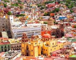 City of Mummies, Guanajuato, Mexico, City colored buildings2