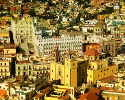 City of Mummies, Guanajuato, Mexico, City panorama