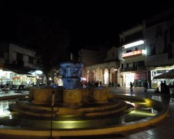 Heraklion, Greece, Nightime