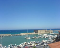 Heraklion, Greece, Yacht docks