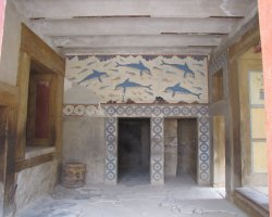 Heraklion, Greece, Minoan Palace interior