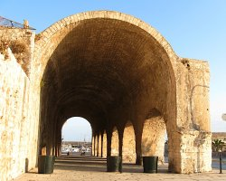 Heraklion, Greece, Remains of dockyards