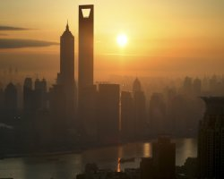 Highest Hotels, Park Hyatt, Shanghai, Sunrise