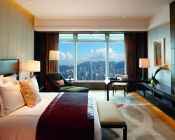 Highest Hotels, The Ritz Carlton, Hong Kong, Room Interior view