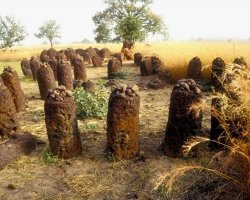 History Holiday, Senegambian Stone Circles Sine, Wassu panoramic view