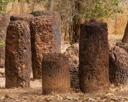 History Holiday, Senegambian Stone Circles Sine, Ngayene close view