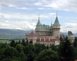 2013 Destination Holiday, Slovakia, Europe, Bojnice Castle overview