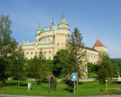 2013 Destination Holiday, Slovakia, Europe, Bojnice Castle