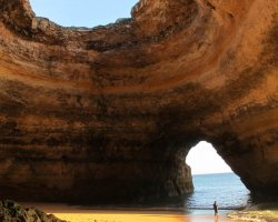 Beaches from Portugal, Algarve, Portugal, Glorious Sea Cave