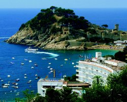Holiday in Spain, Costa Brava, Spain, Coastal view