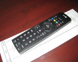 Holiday Tips, Hotel room remote control