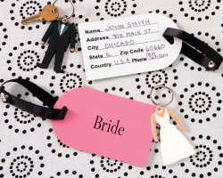 Honeymoon Vacation, Just Married tags
