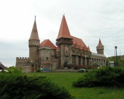 Hunyad Castle, Romania, Panorama