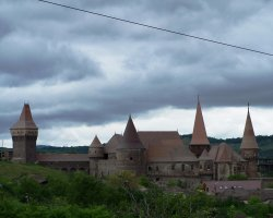 Hunyad Castle, Romania, Skyline